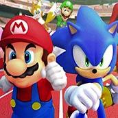 Игра Соник и Марио
