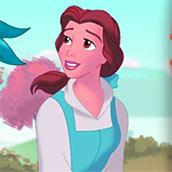 Игра Бродилка с принцессой Белль