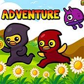 Игра Приключение с прыжками
