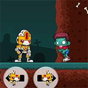 Игра Робот истребляет зомби