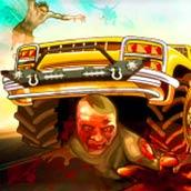 Игра На машине по дороге монстров - картинка