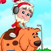 Игра Про мальчика и собаку - картинка