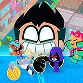 Игра Teen Go Titans Figure