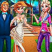 Игра Дизайн свадебного домика