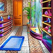 Игра Дизайн ванной комнаты Снежной Королевы