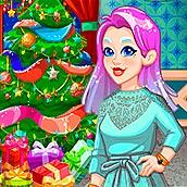 Игра Новогодний декор дома