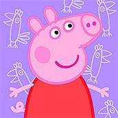 Игра Пазл портрет Свинки Пеппы
