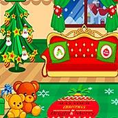 Игра Рождественский декор дома