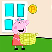 Игра Свинка Пеппа ловит монеты