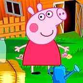 Игра Свинка Пеппа на ферме - картинка