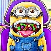 Игра Миньон у дантиста: лечим кариес - картинка