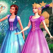 Игра Барби и волшебство