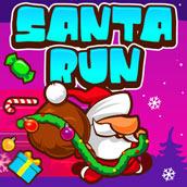 Игра Бегущий Санта Клаус