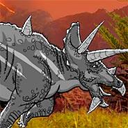Игра Битва огромных динозавров - картинка