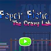 Игра Бумажный самолет: сумасшедшая лаборатория