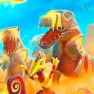 Игра День Д: защита от динозавров