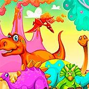 Игра Динозавры: скрытые миниатюры