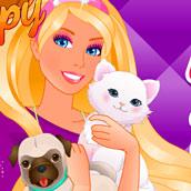 Игра Домашние питомцы Барби