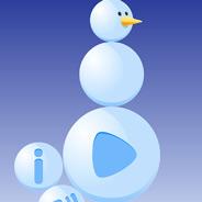 Игра Лепим снеговика