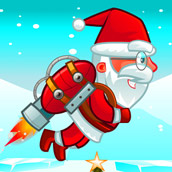 Игра Летающий Санта и подарки