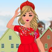 Игра Модная кукла: одевалка
