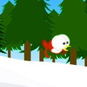 Игра Новогодняя птичка и подарки