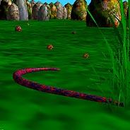 Игра Объемная змейка