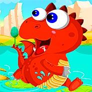 Игра Прыжки динозавра - картинка