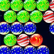 Игра Рождественская стрельба по шарикам