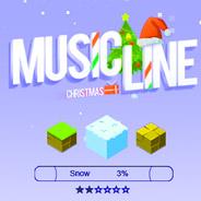 Игра Рождество и музыкальная линия