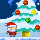 Игра Санта и снежные монстры