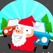 Игра Санта Клаус в городе