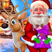 Игра Спаси Дедушку Мороза