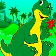 Игра Спаси динозавра - картинка