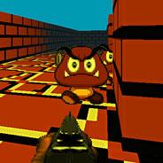 Игра Стрелялка с Марио