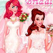 Игра Свадебная одевалка принцесс