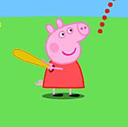 Игра Свинка Пеппа: бейсбол