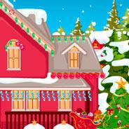 Игра Украшаем дом к празднику