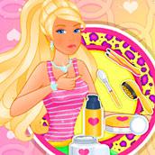 Игра Выходной куклы Барби