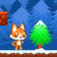 Игра Зимние приключения лисенка