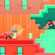 Игра Агент с пистолетом - картинка