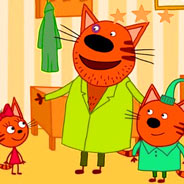 Игра Дядя Кекс и три кота