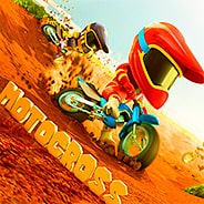 Игра Гонки на мотоциклах: мотокросс