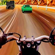 Игра Гонки на мотоциклах на трассе