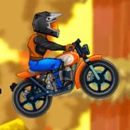 Игра Гонки на мотоциклах: приключение в горах
