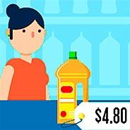 Игра Кассир-продавец в магазине