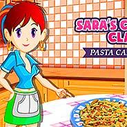 Игра Кухня Сары: паста карбонара - картинка