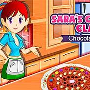 Игра Кухня Сары: шоколадная пицца - картинка