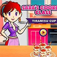 Игра Кухня Сары: тирамису в стаканчиках
