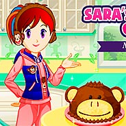 Игра Кухня Сары: торт обезьянка - картинка